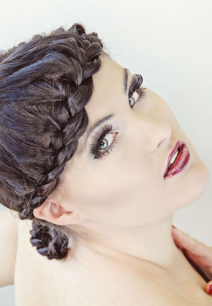 """""""TWISTED GLAM"""" Hairstyles By Tina Monz Freelance hairstylist"""