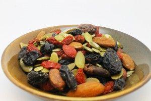 Dragon's Delight - Black Beauty Raisins, Raw Almonds, Longan Fruit, Pumpkin Seeds, Cacao Beans, Brazil Nuts, and Goji Berries!