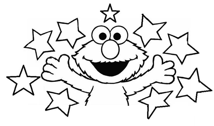 1000 images about sesame street on pinterest for Elmo valentine coloring pages