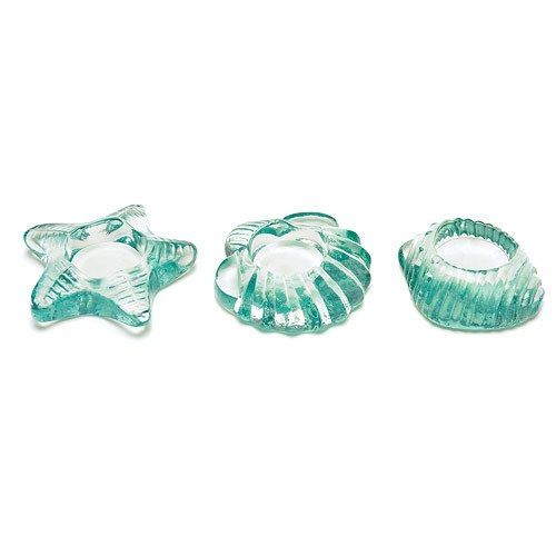 Sea Animal Glass Candle Holders - THINGS FESTIVE