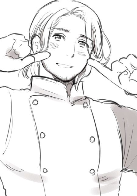 """*What the France inside of my head told me he wanted to say* ~ """"Mademoiselle, I hope you have enjoyed my food with that beautiful smile on your face"""","""