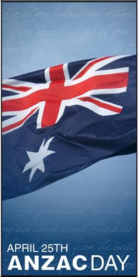 ANZAC Day;  April 25.  ( Australia New Zealand  Army Corps)  Commemorating The Battle of Gallipoli in WW1