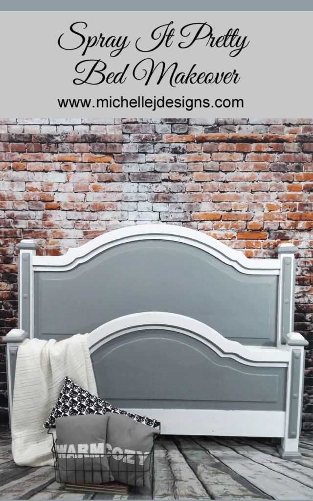A Pretty Headboard That Will Make Your Head Spin :http://michellejdesigns.com/a-pretty-headboard-that-will-make-your-head-spin/