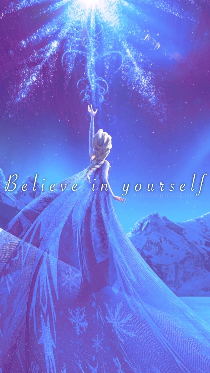 Teenage Baby☽ — The Snow Queen Elsa iPhone 6 Plus lockscreen!...