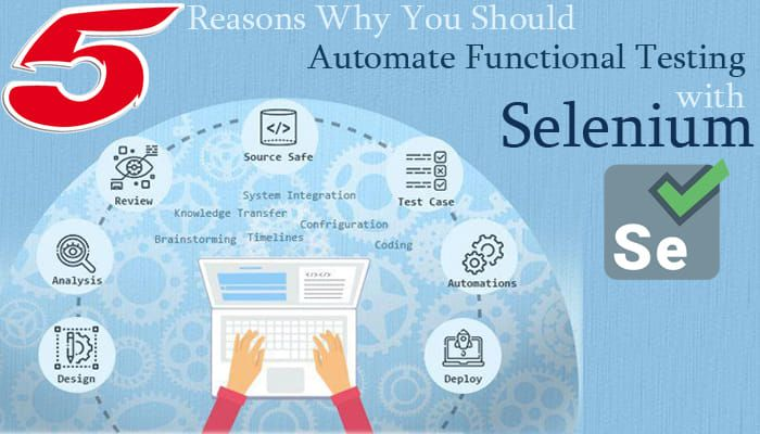 5 Reasons To Choose Selenium With Automate Functional Testing