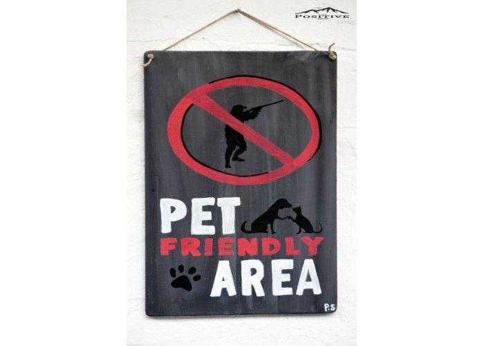Pet friendly area