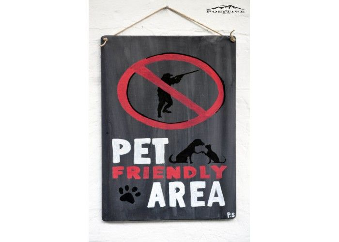 Pet friendly area
