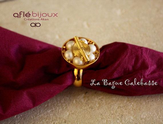 Aflé Bijoux La Bague Calebasse by AFLEBijoux on Etsy, €65.00