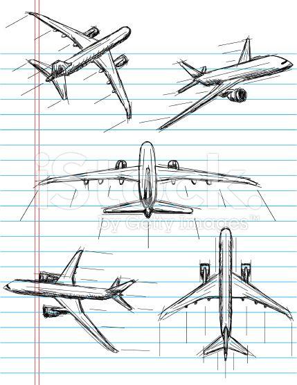 airplane sketch illustration - Google Search