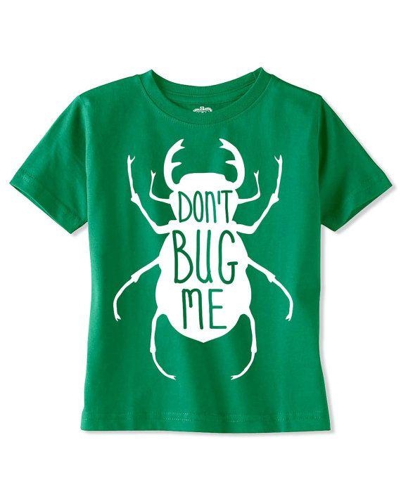 Glow In The Dark Bug Shirt Baby T Shirt Toddler T Shirt
