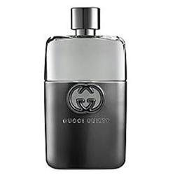 Gucci Guilty Cologne for Men 3 oz Eau De Toilette Spray Guilty Young, fearless, with impeccable taste, the wearer of Gucci Guilty Pour Homme is a hero for our age - exuding charisma and more than a little dangerous. Gucci Guilty Pour Homme is an intense and individual contemporary fougere that provokes as it seduces. The scent seizes hold of the senses with a heady cocktail of invigorating Italian lemon and mandarin alongside crushed green leaves, fresh lavender and a defiant punch of pink…