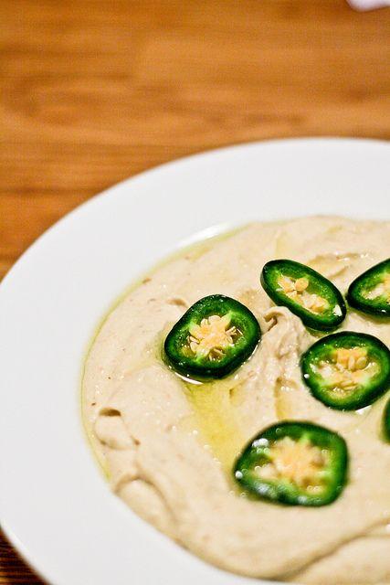 Jalapeno Hummus by foodiebride, via Flickr
