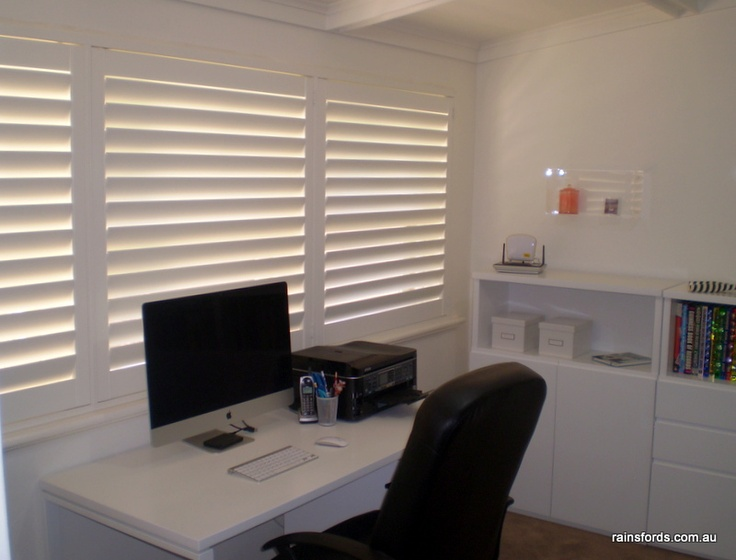 Beautiful plantation shutters in an Adelaide home by Rainsfords Awnings | Blinds | Curtains