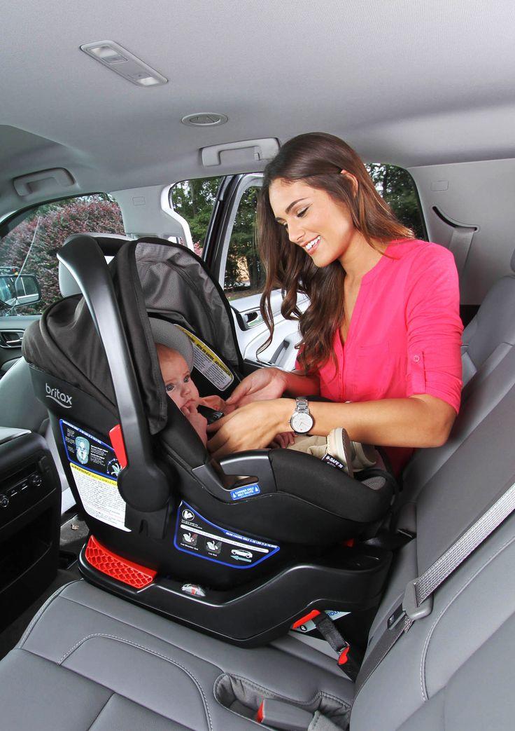 The Britax B Safe 35 Elite Surrounds, Britax B Safe 35 Infant Car Seat Installation