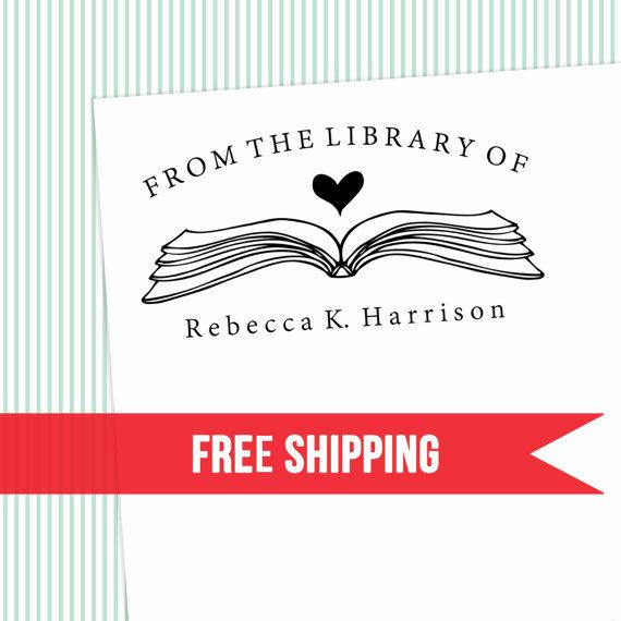 Library Stamp-This Book Belongs to Stamp-Personal Library stamp-School/Classroom Stamp-Book Stamp-Teacher Gift-Self Inking
