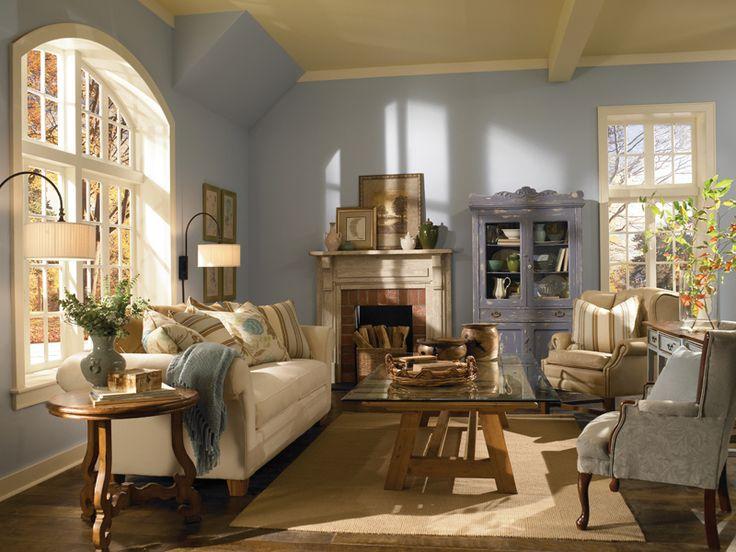 Risultati immagini per pareti azzurro polvere