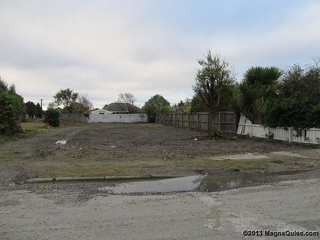 My parents house...gone. Red Zone Avondale 14 June 2013 | Flickr - Photo Sharing!