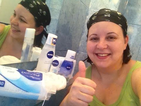 Mission : Make up removal #operatiuneademachierea with Nivea