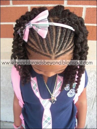 Sensational 1000 Images About Hair Styles On Pinterest Black Little Girls Short Hairstyles Gunalazisus