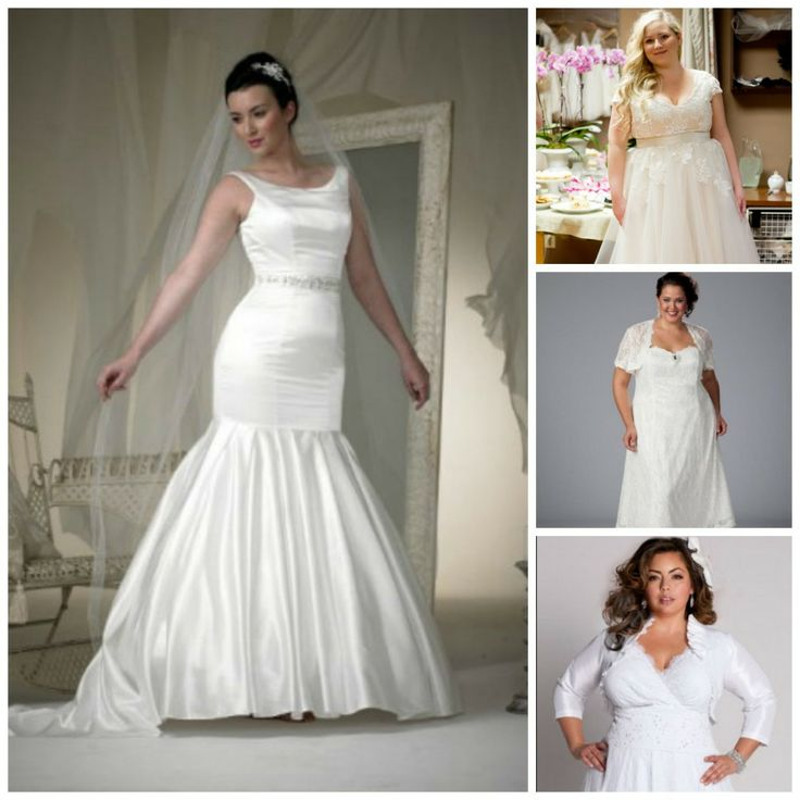 1000 images about wedding dresses for curvy brides on for Wedding dresses for short curvy brides