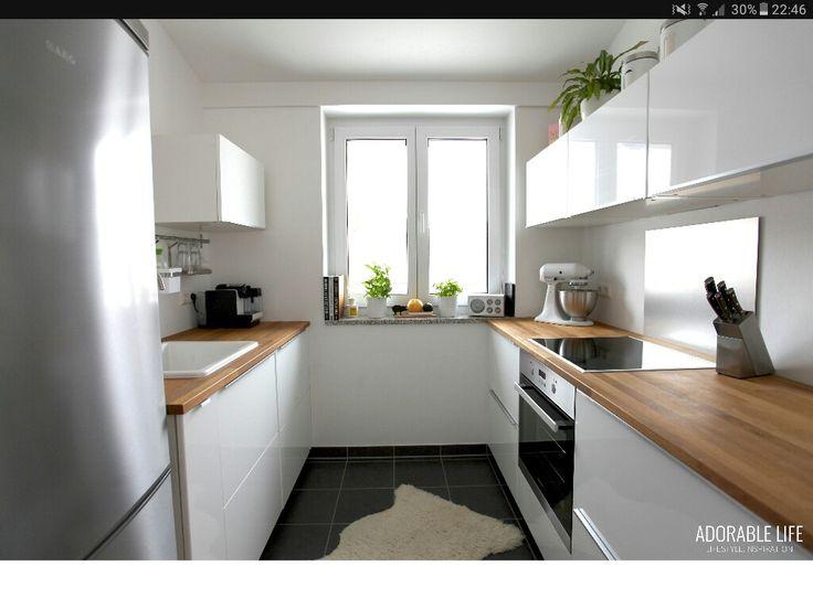 59 best Küche images on Pinterest Kitchen small, Cooking food and - rückwand für küche