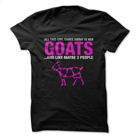 Do you care about goats? - #tshirt crafts #hoodie schnittmuster. I WANT THIS => https://www.sunfrog.com/Pets/Do-you-care-about-goats.html?68278