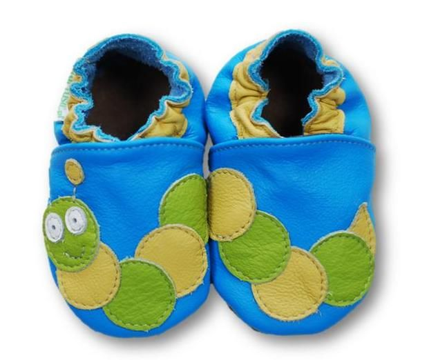 ekoTuptusie Gąsienica Soft Sole Shoes Caterpillar Les chaussures pour enfants Krabbelshuhe https://www.fiorino.eu/