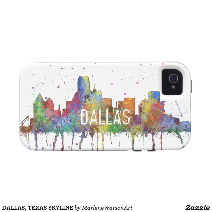 DALLAS, TEXAS SKYLINE Case-Mate iPhone 4 COVER