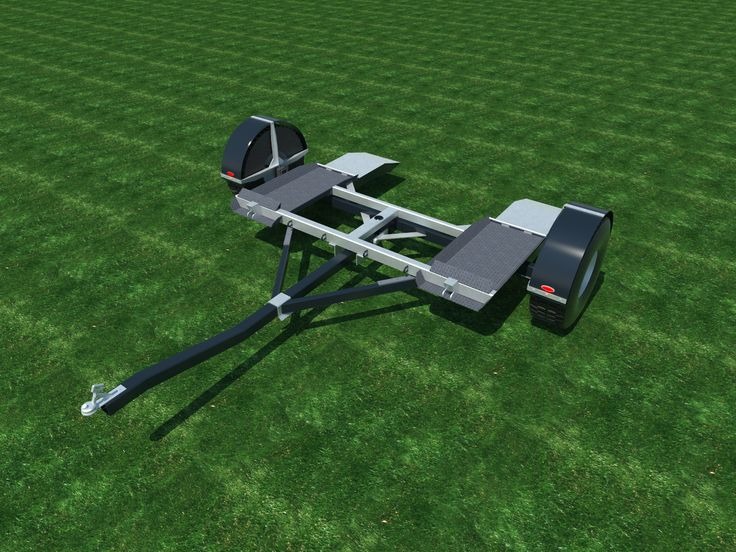 Build your own Auto Tow Dolly (DIY Plans) Fun to build!! Save Money!!