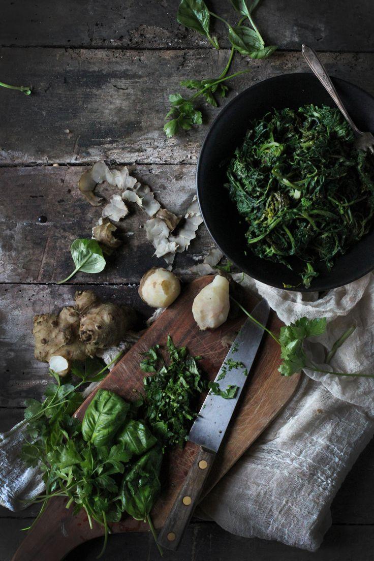 Hortus Natural Cooking – Naturally Italian. Vegan Ravioli Pockets With Herbs - The Art of being Frugal | Hortus Natural Cooking - Naturally Italian.