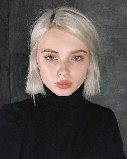 Trendy Haarfarben für kurzes Haar für Damen 2019…