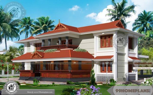 Kerala Traditional Home Design Photos With Huge Two Floor Royal Homes Kerala House Design House Design Photos Traditional House