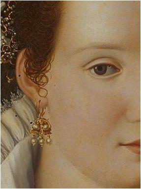Retrato de dama, Alessandro Allori, 1570, colección particular