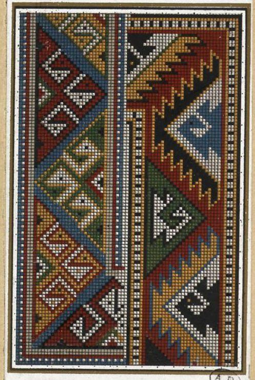 Gallery.ru / Фото #7 - старинные ковры и схемы для вышивки - SvetlanN