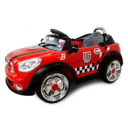 Samochód elektryczny dla dziecka MINI NOOGIE czerwony