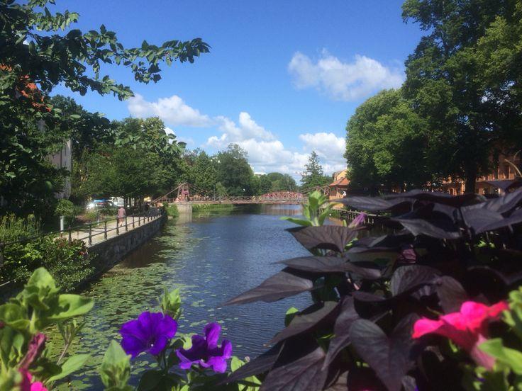 Fyrisån, Uppsala, Sweden 2015
