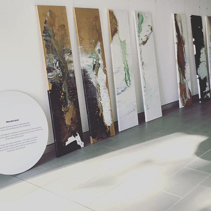 #artistatwork #art #studio wollahra Imre Badonski @bad_on_ski