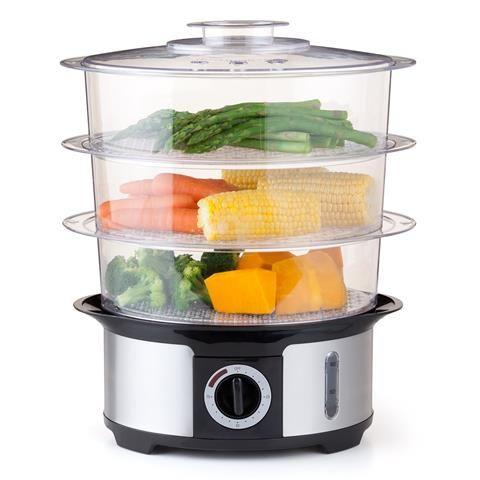 3 Tier Food Steamer Ss homemaker Fs1151