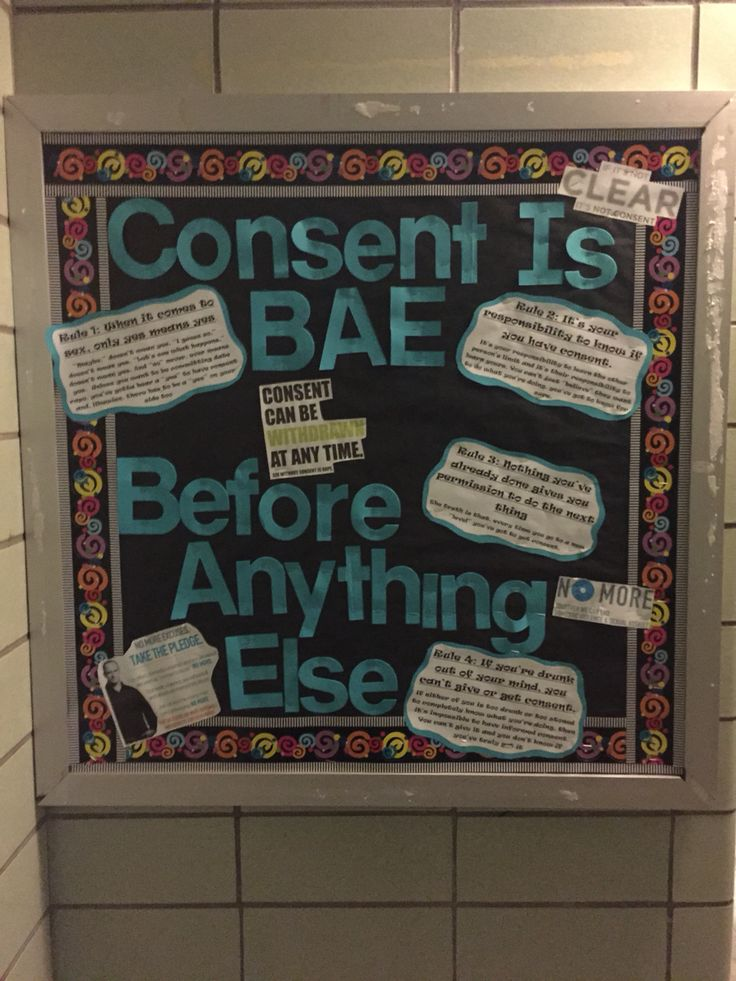 RA Bulletin Board for sexual assault awareness month. Month of March. It came out really nice.