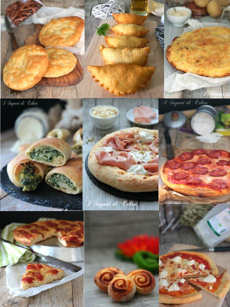 Pizze e focacce raccolta impasti perfetti