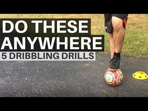 5 Easy Soccer Dribbling Drills You Can Do Anywhere - YouTube