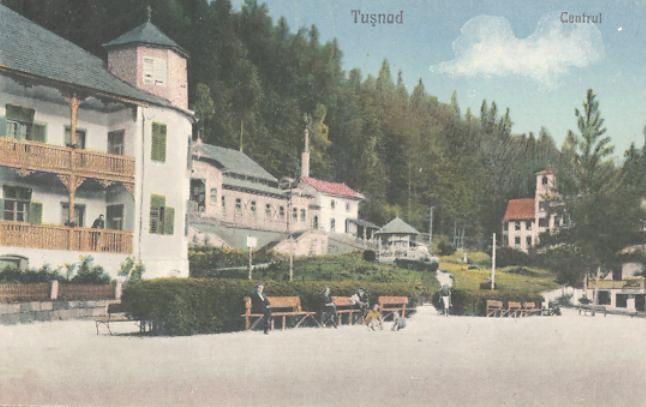 Tusnad - Centrul - 1925