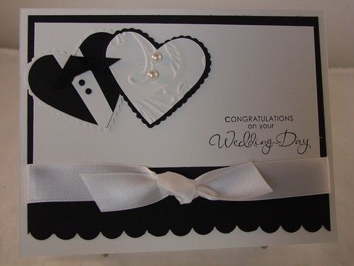 "Stampin Up ""Wedding Day"" Handmade Card 