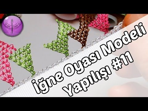Needle Lace Tutorial #11 HD Quality DIY - YouTube