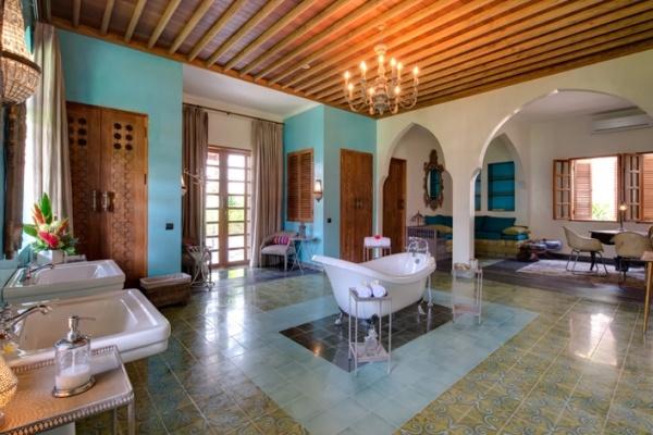 Luxury bathroom at Villa Sayang d'Amour, Seminyak, Bali