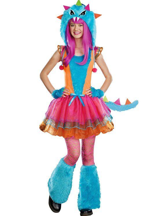 Fur-Ocious Creature Teen Girl's Costume