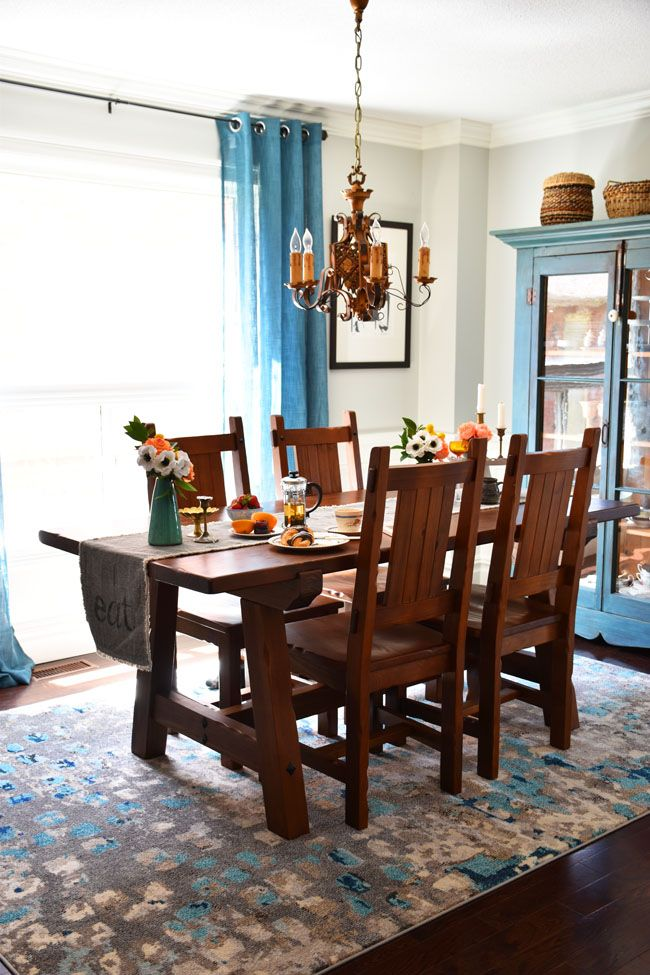 532 best home decor images on pinterest for Dining room ideas teal