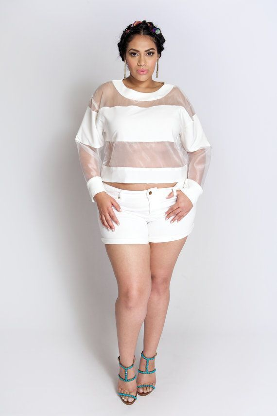 Image result for all white party outfits for plus size ladies ...