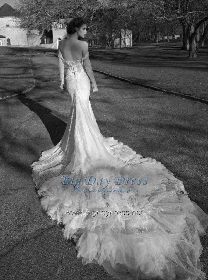 Vestido de novia, modelo sirena, inspirado por Inbal Dror 2013.