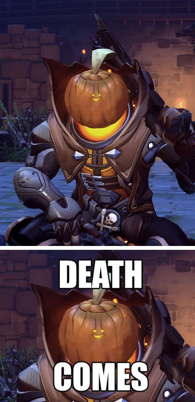 Overwatch Reaper's Halloween skin shitpost